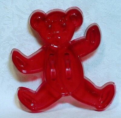 Vintage Design New Red Cookie Cutter - Teddy Bear Christmas Child's Toy