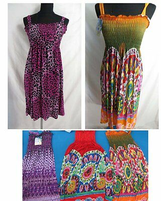 US SELLER-wholesale lot of 4 summer casual dresses sundress tube top dress