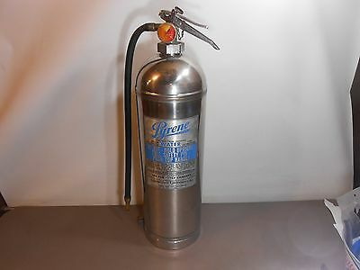 VINTAGE FIRE EXTINGUISHER / PYRENE 2 1/2 gal  Pressurized water  EMPTY