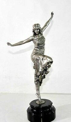 Art Deco Russian Dancer Bronze Statue by Philippe