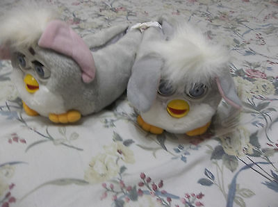 Rare Vintage Furby Slippers Size Kids 12 Nwt Free U.s. Shipping Look