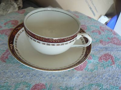 Alfred Meakin cup and saucer (Kingsdale) 10 available