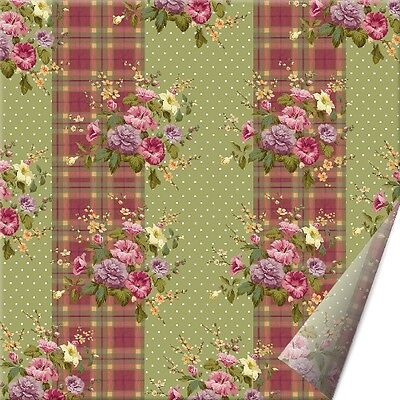 Pack of 25 KATIE ALICE Highland Fling Shabby Chic PAPER NAPKINS