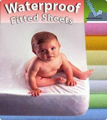 Waterproof Mattress Protector Cover Cot 120x60 Cot Bed 140x70 Baby Fitted Sheet