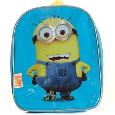 Despicable Me 2 Small Back Pack / Kids Children's Official Movie Bag School