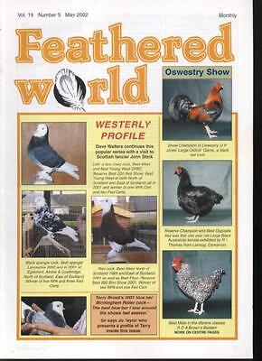 FEATHERED WORLD MAGAZINE - May 2002 Poultry Pigeons