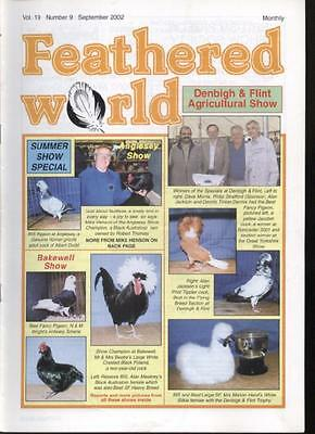 FEATHERED WORLD MAGAZINE - September 2002 Poultry Pigeons