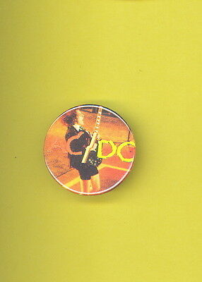 AC/DC 1981 uk pinback button badge PP ww onstage