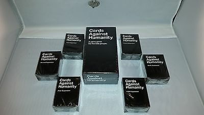 FAST SHIPPING! Cards Against Humanity 550 Game +1-2-3-4-5-6th expansions SEALED