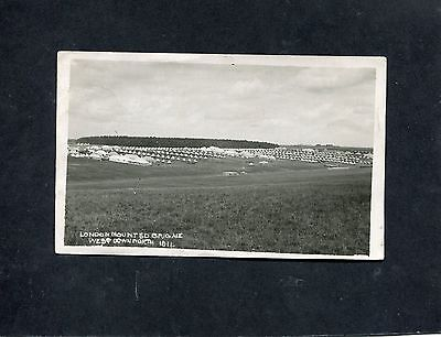 Postcard- c1911 Photocard of the London Mounted Brigade Camp