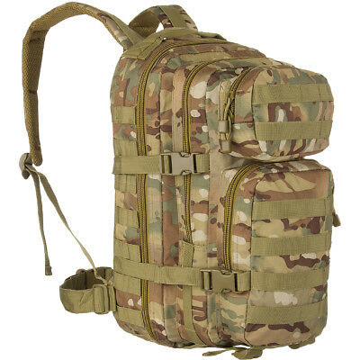 Army Tactical Combat Assault Day Pack Rucksack Hiking MOLLE 20L Multitarn Camo