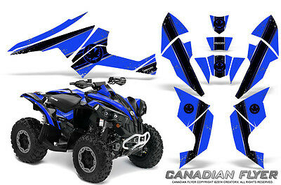 Can-Am Renegade Graphics Kit by CreatorX Decals Stickers CFLYER BBL