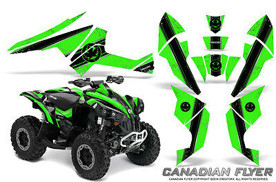 Can-Am Renegade Graphics Kit by CreatorX Decals Stickers CFLYER BG