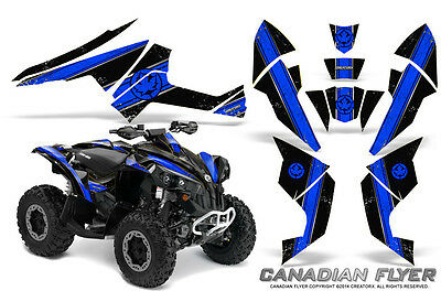 Can-Am Renegade Graphics Kit by CreatorX Decals Stickers CFLYER BLB