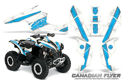 Can-Am Renegade Graphics Kit by CreatorX Decals Stickers CFLYER BLIW