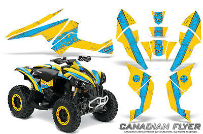 Can-Am Renegade Graphics Kit by CreatorX Decals Stickers CFLYER BLIY
