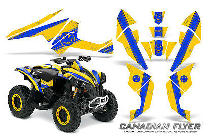 Can-Am Renegade Graphics Kit by CreatorX Decals Stickers CFLYER BLY