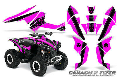 Can-Am Renegade Graphics Kit by CreatorX Decals Stickers CFLYER BP