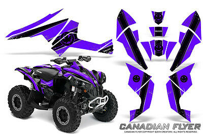 Can-Am Renegade Graphics Kit by CreatorX Decals Stickers CFLYER BPR