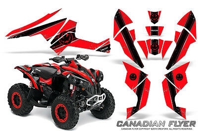Can-Am Renegade Graphics Kit by CreatorX Decals Stickers CFLYER BR
