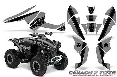 Can-Am Renegade Graphics Kit by CreatorX Decals Stickers CFLYER BS
