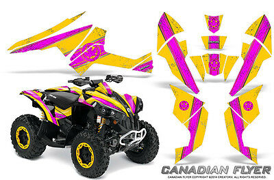 Can-Am Renegade Graphics Kit by CreatorX Decals Stickers CFLYER PY