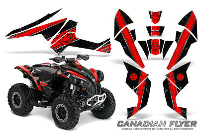Can-Am Renegade Graphics Kit by CreatorX Decals Stickers CFLYER RB