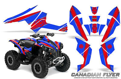Can-Am Renegade Graphics Kit by CreatorX Decals Stickers CFLYER RBL