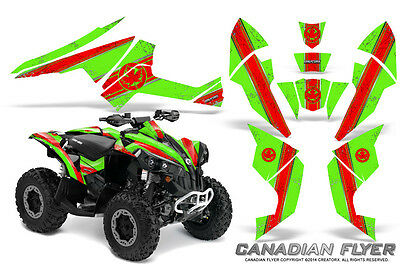 Can-Am Renegade Graphics Kit by CreatorX Decals Stickers CFLYER RG
