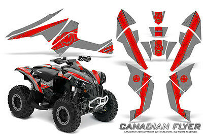 Can-Am Renegade Graphics Kit by CreatorX Decals Stickers CFLYER RS