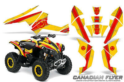 Can-Am Renegade Graphics Kit by CreatorX Decals Stickers CFLYER RY