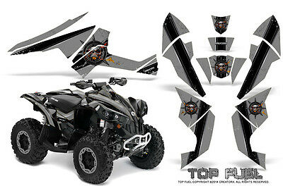 Can-Am Renegade Graphics Kit by CreatorX Decals Stickers TOP FUEL BS