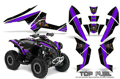 Can-Am Renegade Graphics Kit by CreatorX Decals Stickers TOP FUEL PRB