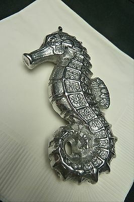 New In Box  Arthur Court Cocktail Napkin / Paper Weight…seahorse