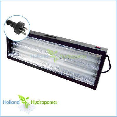 Hydro22:T5 2-feet 2-tube 24w Grow Lights fitted aluminium reflector Propagation