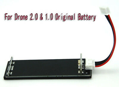 Parrot AR Drone 2.0 Battery Speed Charger Wire Socket Adapter Plate Gift