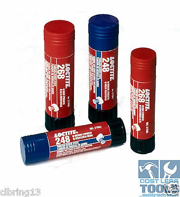 Loctite ® Threadlocker Stick, Medium Strength (248) and High Strength (268)
