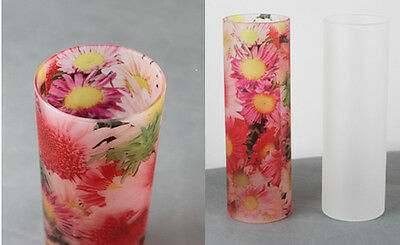 Frosted Vase - For Sublimation Heat Press / Printing / 3D vacuum