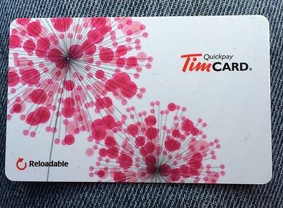 New 2014 Tim Hortons Spring Mother's Day Collectable Gift Card (No Cash Value)
