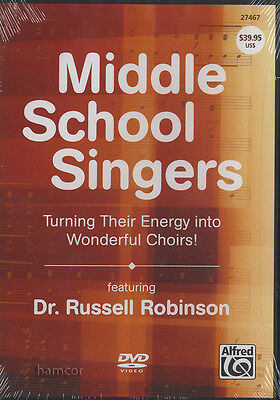 Middle School Singers Choir Singing Vocal Tuition DVD