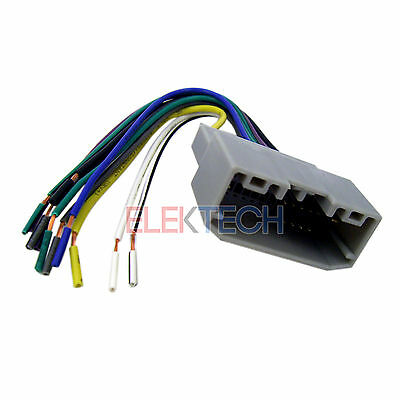 BHA6522 Aftermarket Radio Replacement Wire Harness for Dodge/Jeep/Chrysler