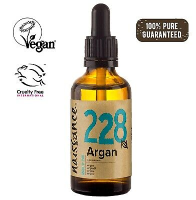 Naissance Moroccan Argan Oil 50ml - 100% Pure. For All Hair and skin Types