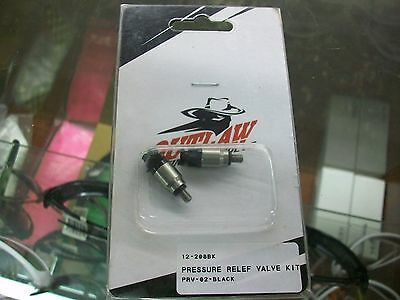 OUTLAW RACING PRODUCT PRESSURE RELEASE VALVE KTM FORK CAPS WP 43mm & 48MM (YT1)