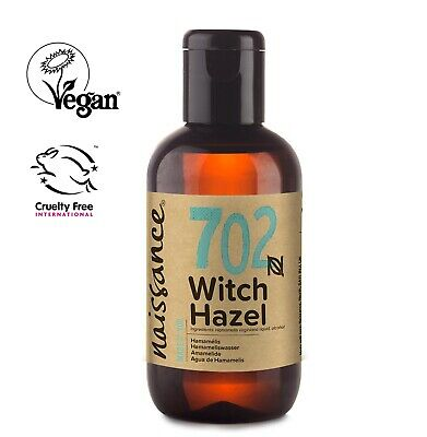 Naissance Distilled Witch Hazel for Aromatherapy, Skincare and DIY Beauty