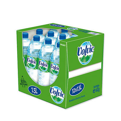 Volvic Mineral Bottled Water 1.5 Litre 12 Pack - - - Only £11.99 Ex VAT