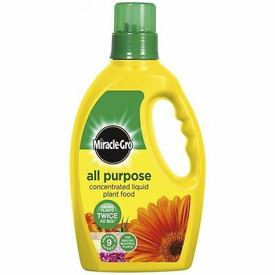 Plant Food Liquid 1L All Purpose Feed Miracle-Gro Garden Soil