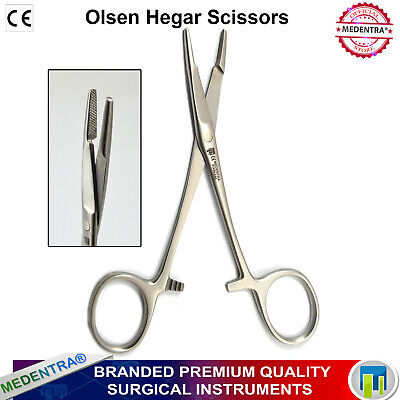 Olsen Hegar with Suture Cutters, Porta Aghi, Needle Holders,Surgical, Dental,New