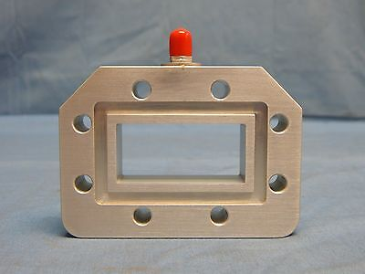 NEW WR187 3.95-5.85GHz Continental Microwave Waveguide Power Sampler SMA