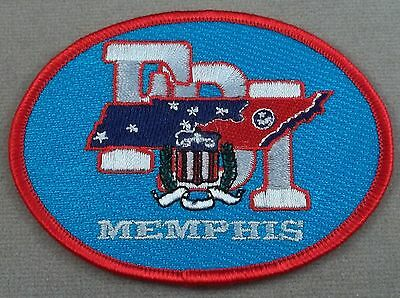 FBI / Federal Bureau Of Investigation Patch / Memphis
