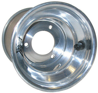 "KEIZER ALUMINUM WHEEL,KW2 KARTING,5"" x 9.25"",4"",GO KART,POLISHED,ENDURO,SPEEDWAY"